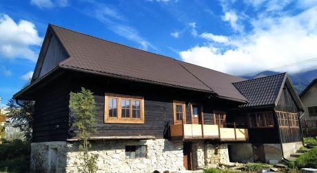 Kompletne zrekonštruovaná drevenica, Liptovská Lúžna (136/20)