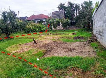 !!! REZERVOVANÉ !!!  Záhrada / pozemok aj na výstavbu domu