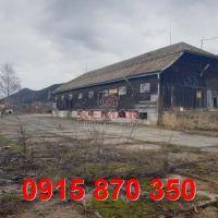 Priemyselný areál, Slovenská Ľupča, 5530 m², Pôvodný stav