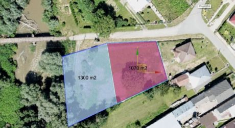 Stavebný pozemok 1300m2 V obci Drienov, okr. Prešov (141/20)