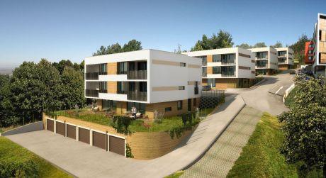 2 izbový byt s terasou a záhradkouvo výstavbe v unikátnom projekte bývania vo VILADOMOCH na Starých Gruntoch.