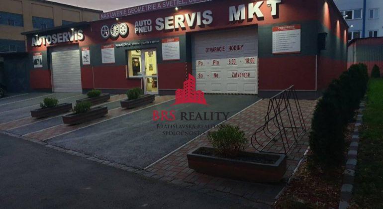 Predaj lukratívnej nehnuteľnosti AUTO SERVIS Vodárenská ulica Košice