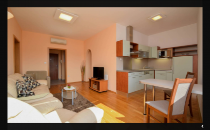 Ponúkame do prenájmu 2 izbový moderný byt v novostavbe sparkovacím státím a loggiou, na Dunajskej ulici  v centre BA I.