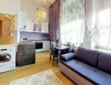 NA PRENÁJOM 1 izbový byt, NOVÉ MESTO, Stará Vajnorská. Kompletne zariadený vrátane spotrebičov.