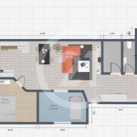 3 izbový byt, Poprad, 81 m², Novostavba
