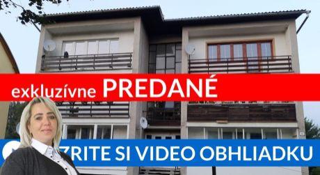 PREDANÉ EXKLUZÍVNE Priestranný 3i byt s výbornou cenou - Oravské Veselé