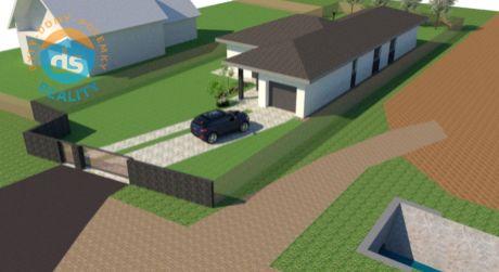 Na predaj novostavba rodinného domu 210 m2, garáž, pozemok 950 m2, Slavnica