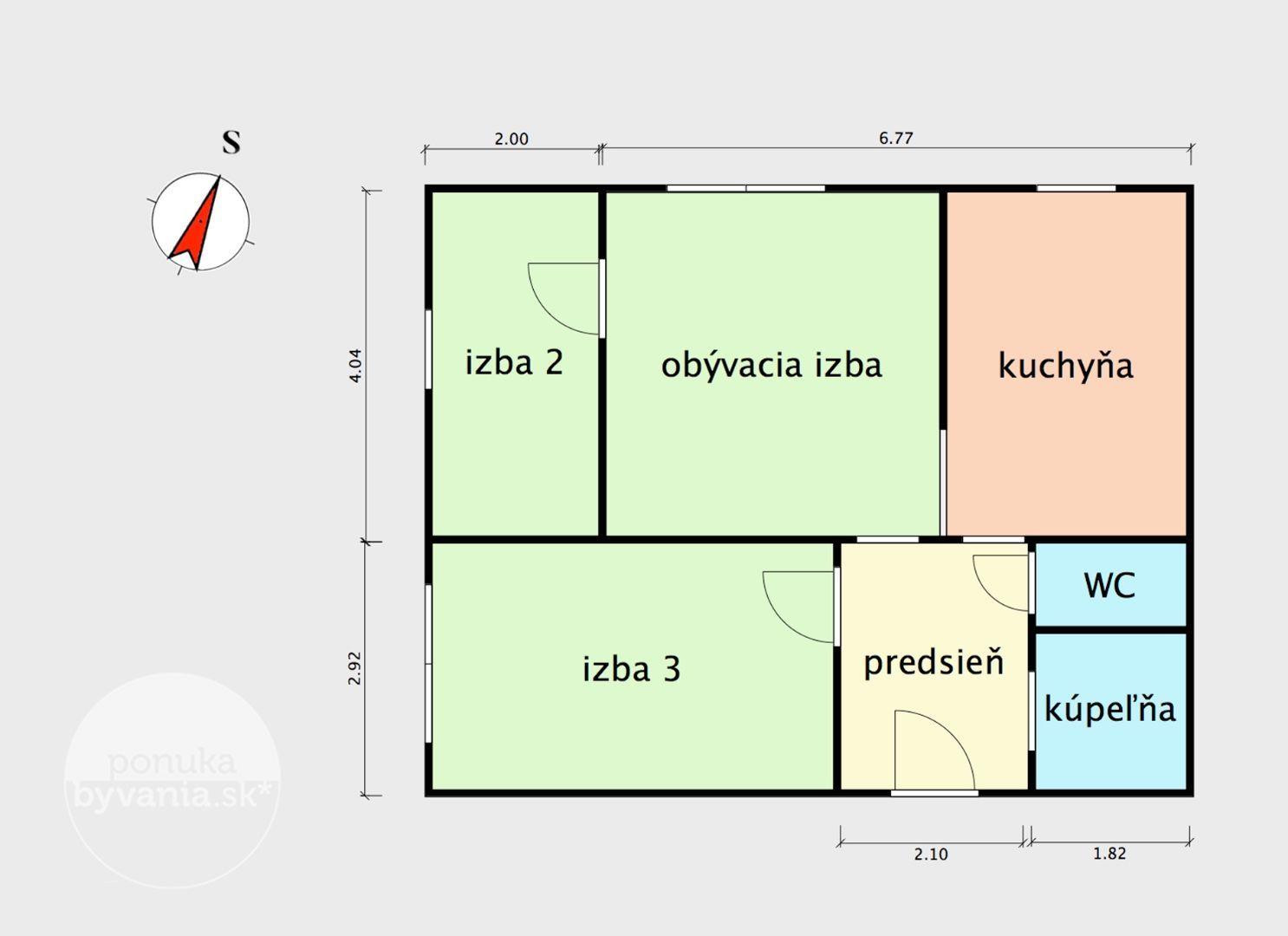ponukabyvania.sk_Drobného_3-izbový-byt_KALISKÝ