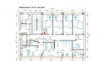 5-izbový byt o výmere 196 m2 v Podunajských Biskupiciach, 2.NP
