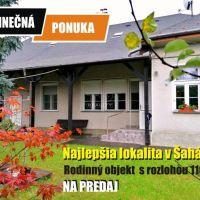 Rodinný dom, Šahy, 1107 m², Čiastočná rekonštrukcia
