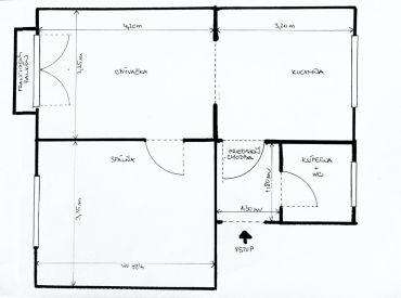 Vytvorte si bývanie podľa vašich predstáv !! Na predaj krásny 2.izbový byt na Kvetnej ul. v BA - Ružinov.