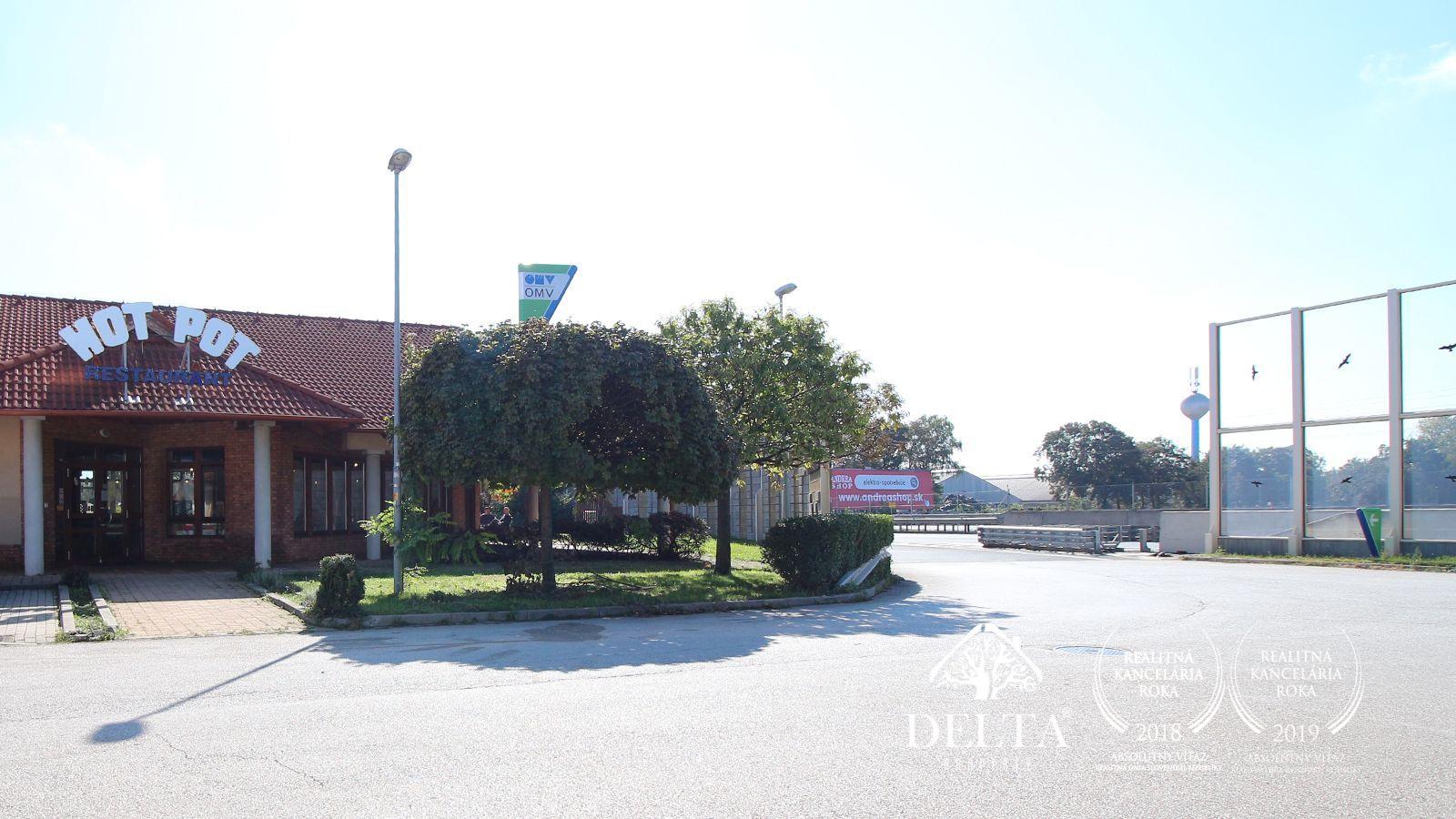 DELTA |  Predaj Motorestu pri Vlčkovciach na R1, 1872 m²