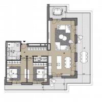 4 izbový byt, Žilina, 161 m², Vo výstavbe