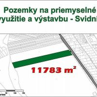Priemyselný pozemok, Svidník, 12083 m²