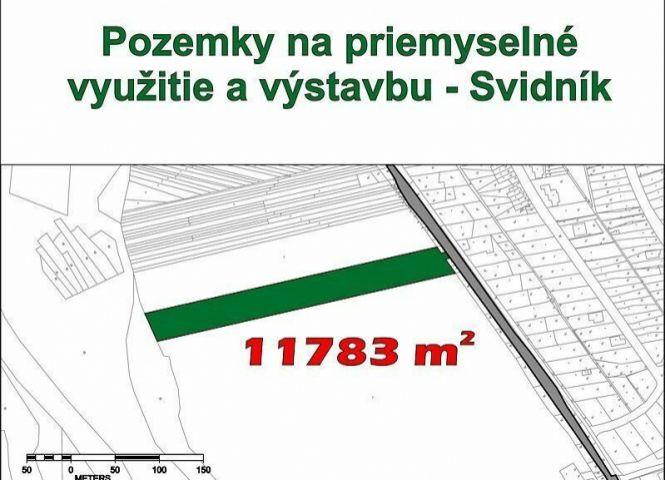 priemyselný pozemok - Svidník - Fotografia 1