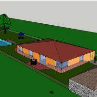 Rodinný dom, Ivančiná, 145 m², Projekt