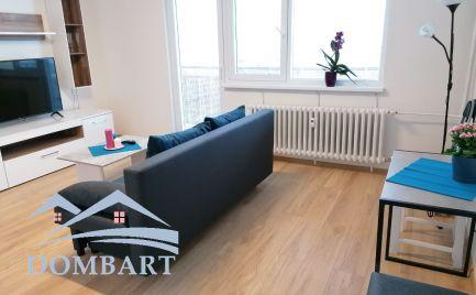 Zariadený 2 izbový byt s výhľadom na prenájom