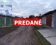 PREDANÉ Na predaj garáž 20 m2 Prievidza 70145