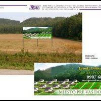 Pre rodinné domy, Necpaly, 700 m², Novostavba