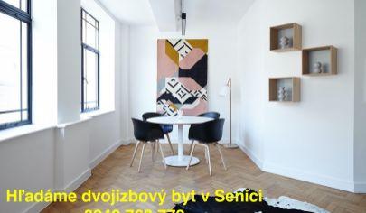 Dvojizbový byt Senica