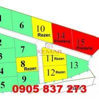 Pre rodinné domy, Kalinovo, 714 m²