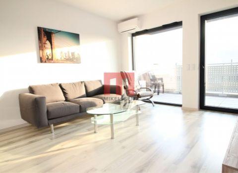 Na prenájom nový 2 izbový byt s priestrannou loggiou v projekte Tehelné pole