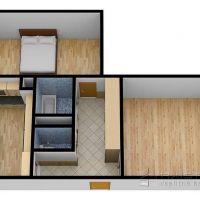 2 izbový byt, Stará Ľubovňa, 54 m², Kompletná rekonštrukcia