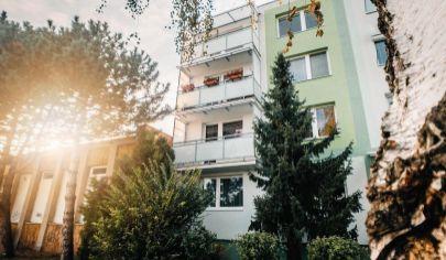 Svetlý, priestranný 3- izbový byt na predaj Veľkomoravská ulica - Malacky