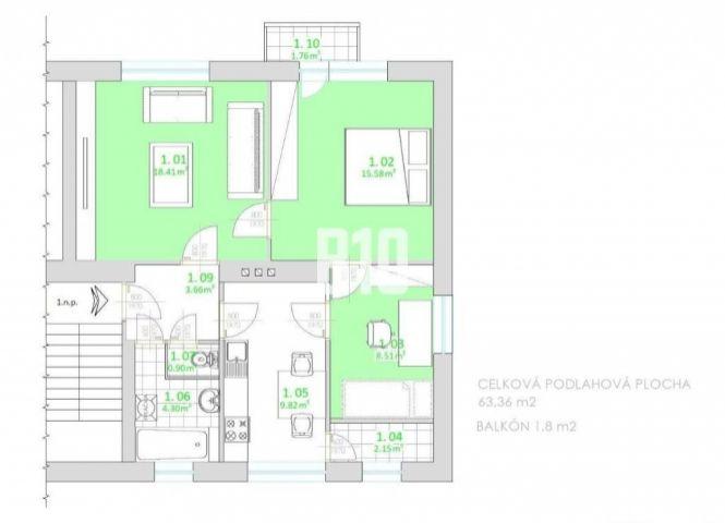 3 izbový byt - Lietavská Lúčka - Fotografia 1