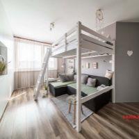 1 izbový byt, Košice-Nad jazerom, 43 m², Kompletná rekonštrukcia