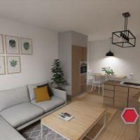 2 izbový byt, Poprad, 54 m², Čiastočná rekonštrukcia