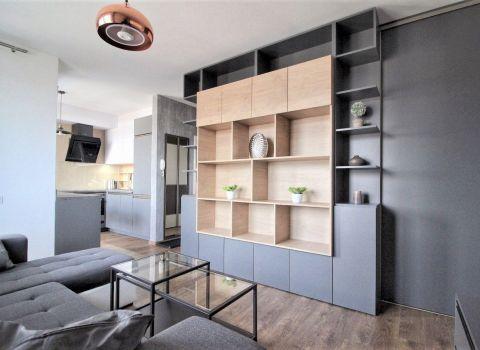 Na prenájom moderný 1,5 izbový byt s loggiou a parkovacím miestom v projekte BORY HOME I.