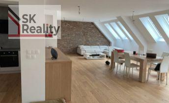 PREDAJ - nadštandardný nový podkrovný byt na Trenčianskej ul. v BA-Nivy
