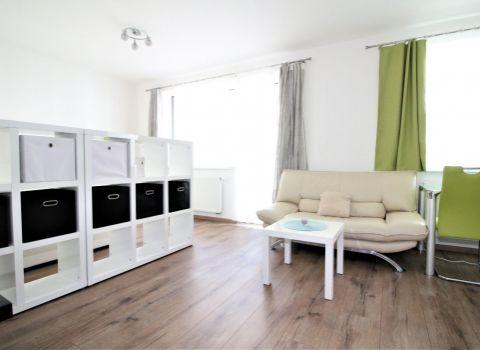 PRENAJATÝ - na prenájom priestranný 1 izbový byt s garážovým státím v novostavbe STEIN