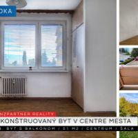 1 izbový byt, Šaľa, 51 m², Kompletná rekonštrukcia