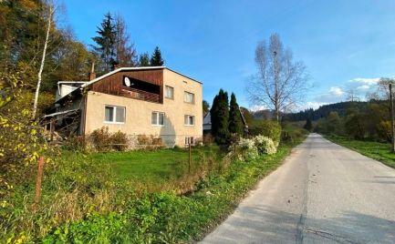REZERVOVANÉ !!!  Rodinný dom v tichej časti Čierny Balog, v blízkosti prírodnej rezervácie Dobroč