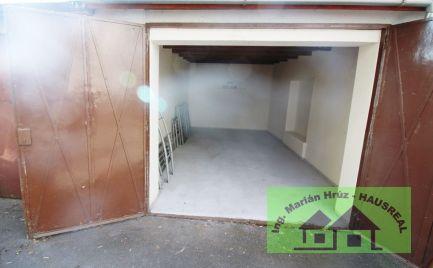 Kúpim garáž v Leviciach Hausreal