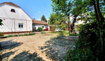 EXKLUZÍVNE na predaj: lukratívny stavebný pozemok so starším RD, nádherná záhrada, výborná lokalita, Prievoz - Stachanovská ul.