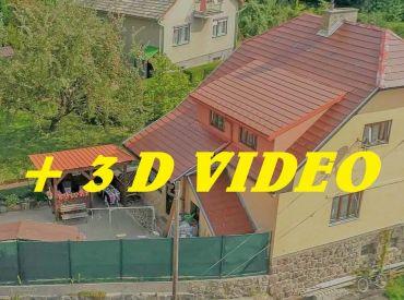 VIDEO + 3D. Dom 4+1, kompletne prerobený priamo pri hrade - Kremnica centrum