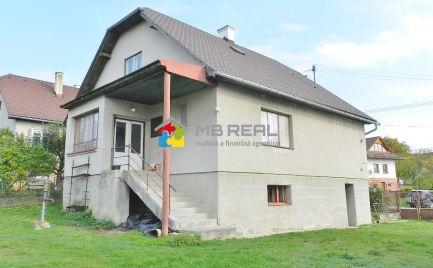 REZERVOVANÉ - Rodinný dom, Lovčica-Trubín, pozemok 958 m2
