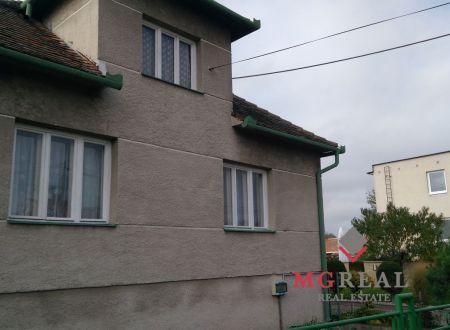 Predaj 3 izbového rodinného domu v Borskom Mikuláši