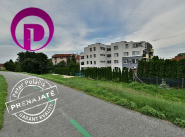 PRENAJATÉ: 2i byt, 52 m2 – Dunajská Lužná:  PROVÍZIU NEPLATÍTE, zariadená novostavba, balkón, dunajská hrádza hneď za domom