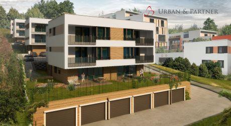 5 izbový byt s terasou a so záhradou vo výstavbe v unikátnom projekte bývania vo VILADOMOCH na Starých Gruntoch.