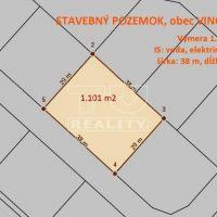 Pre rodinné domy, Vinosady, 1101 m²