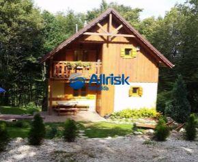 Krásna zariadená chata blízko lyžiarskeho svahu na Bezovci