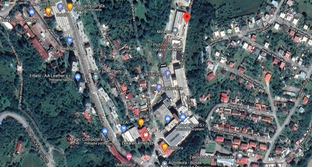 Pozemok pre bytovú vystavbu-Predaj-Banská Štiavnica-60.00 €