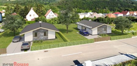 NOVOSTAVBA bungalovu v SELCI - projekt MAXIM (posledný dom)