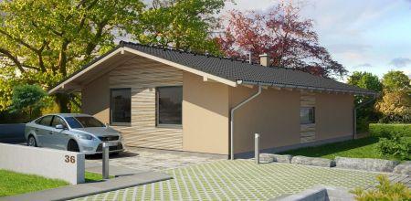 NOVOSTAVBA bungalovu v SELCI - projekt MAXim dom (posledný dom)