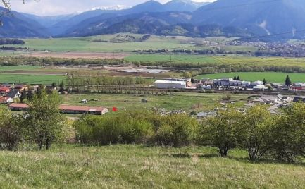 Pozemok Liptovský Mikuláš - Stošice mestská časť