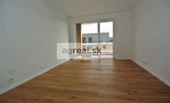 Predaj, 1 izb. apartmánový byt (25,73 m2 + balkón 4,96 m2)  v novostavbe Nový Ružinov, Bajkalská ul. – Bratislava II